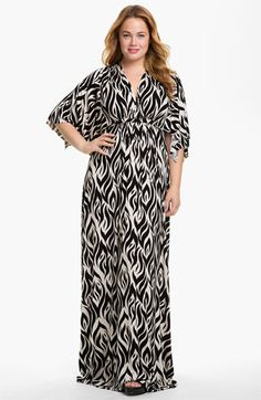 love this print.. man if only i were rich lol  Rachel Pally White Label Long Caftan Dress available at #Nordstrom