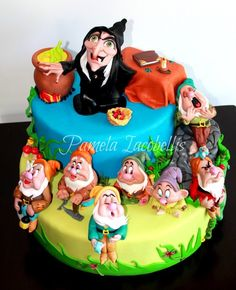 Witch and the 7 dwarfs