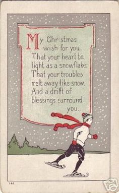 Merry Christmas quotes and wishes can brighten your loved ones. Always appreciate and feel gratitude towards this special holiday and share the wisdom. Feel free to select the best Merry Christmas Wishes and Quotes. Christmas Verses, Christmas Past, Merry Little Christmas, Vintage Christmas Cards, Christmas Images, Christmas Greetings, Vintage Cards, Winter Christmas, Christmas Crafts