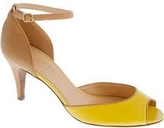 Lara peep-toe heels thestylecure.com