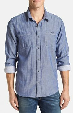 Splendid Jersey Lined Sport Shirt | Nordstrom Made in usa