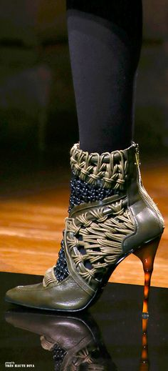 Balmain F/W 2014 - Paris Fashion Week ♥ I bet you would love to wear these - Enjoy with love from http://www.shop.embiotechsolutions.co.uk/AquaFresh-EM-Ceramics-Water-Butt-Treatment-250g-AquaFresh250.htm