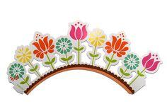 Envoltorio para Cupcakes Flores Multicolores Wilton (18 pzas.) from Super Materias Primas