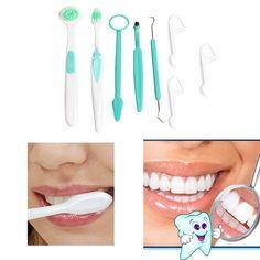 Frete grátis delicado de família de 8 pçs/set Oral Dental escova de dentes escova de limpeza Kit de produtos de higiene GUB # alishoppbrasil                                                                                                                                                                                 Mais