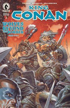 King Conan: Wolves Beyond the Border #3 #DarkHorse #KingConan Release Date: 2/24/2016