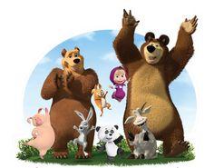 Masha and The Bear   B-rights