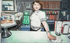 POSE: Friendly, challenge, dare  Larry Rivers, 'Deco Diner II', 1996