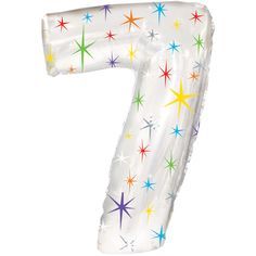 Number Balloons - Birthday - Party Balloons - Photo Props - Anniversary - Birthday - Seven Balloon - Jumbo Balloon - 7 Helium Filled Balloons, Jumbo Balloons, Mylar Balloons, Confetti Balloons, Latex Balloons, Stick Centerpieces, Sparkle Flats, One Balloon, Candle Favors