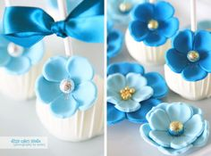 {ditzie cakes}: SKYLINE SHADES OF BLUE!