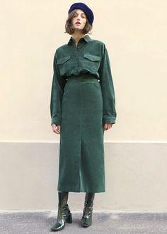50d9a3fe5 21 Best Corduroy Skirt images in 2018 | Corduroy skirt, Velvet skirt ...