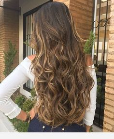 97 ombre hair colors for 2018 - Hairstyles Trends Balayage Hair, Ombre Hair, Wavy Hair, Dyed Hair, Blonde Hair, Blonde Roots, Brunette Hair, Beautiful Long Hair, Gorgeous Hair