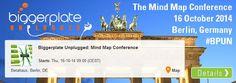 **GEWINNSPIEL** Wir verlosen 1 Ticket für die Mind Map Konferenz an diesem Donnerstag in Berlin, veranstaltet von Biggerplate --> www.facebook.com/MeinExamtime/photos/a.325043680962535.1073741828.313008955499341/539574352842799/?type=1