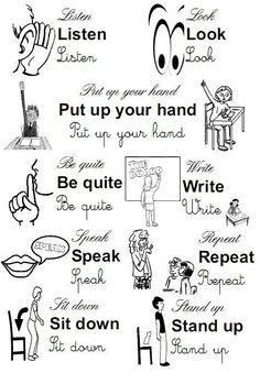 Image result for dibujos de pronombres personales en inglés para colorear