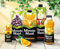 Minute Maid - The Creation of a Coherent Global Master Brand on Packaging of the World - Creative Package Design Gallery