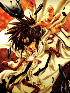 Son Goku (Saiyuki). What is it with anime characters being demons?