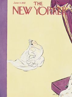 The New Yorker - Saturday, June 11, 1932 - Issue # 382 - Vol. 8 - N° 17 - Cover by : Helen E. Hokinson