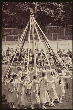 We danced the Maypole in grade school at St. Andrews