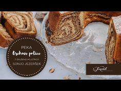 Peka orehove potice s Sonjo Jezeršek - YouTube Slovenian Food, Bakery Recipes, Deli, Catering, Baking, Youtube, Catering Business, Gastronomia, Bakken