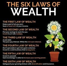 6 laws of wealth