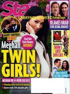 Roseanne Barr, Being Broke, Water Birth, Star Magazine, Boy George, Cover Pics, Tom Cruise, Brad Pitt, Baby Names
