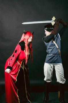 Maou - Neko_48 Yuusha - Risu-O Photo - Jill #Maoyuu Maou Yuusha #cosplay #Maou #maoumaoyuuyuusha #まおゆう魔王勇者