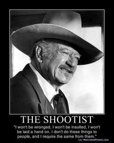John Wayne The Shootist Quotes. QuotesGram - John Wayne The Shootist Quotes. QuotesGram One more John Wayne…. John Wayne Quotes, John Wayne Movies, I Movie, Movie Stars, Iowa, How To Be Single Movie, Happy End, Cinema, Poster