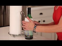 This wine hack may come in handy before your date arrives!   Muy Bueno Cookbook » How to Quickly Chill a Bottle of Wine