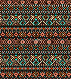 'Ethnic seamless pattern with triangle and abstract geometric ornament. ' Sleeveless Top by Skaska Tribal Background, Textured Background, Principals Of Design, Cultural Patterns, Canvas Prints, Art Prints, Texture Design, Graphic Patterns, Art Education