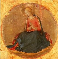 Perugia Triptych: The Virgin of Annunciation by Fra Angelico