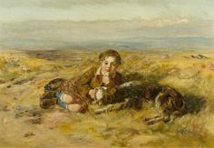 Boy and Dog - William McTaggart