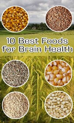 10 Best Foods for Brain Health Most of the items on this list are genetically modified or fed on gmo grain. If you can afford it buy organic if you cannot don't buy it.