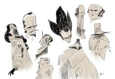 Silhouette character studies by taylorkrahenbuhl