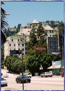 """If discretion, location and luxury is what a rock star needs, they usually find it at the Chateau Marmont. This is where Jim Morrison lived for a while and one drunken night here on the roof was depicted in the movie """"The Doors"""". The bungalows away from the main building are favored for privacy and John Belushi died in one in 1982."""