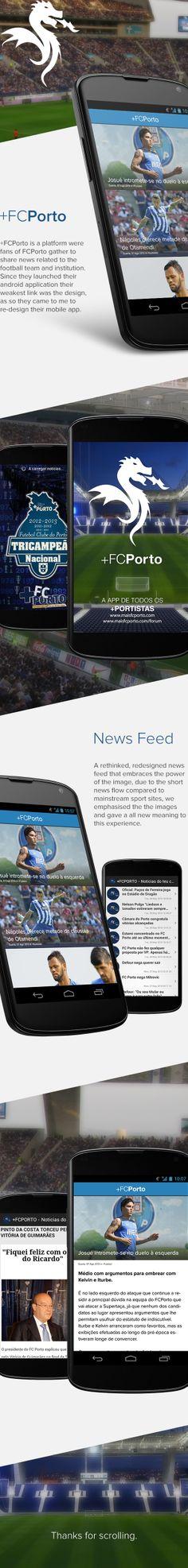 +FCPorto App by José Carlos Rodrigues, via Behance