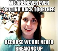 I can't believe I forgot all about the Overly Attached Girlfriend meme! Or how come call it the crazy girlfriend meme. This is a classic meme that will live Clingy Girlfriend, Overly Attached Girlfriend, Crazy Girlfriend, Obsessed Girlfriend, Psycho Girlfriend, Overprotective Girlfriend, Girlfriend Birthday, People, Boyfriends