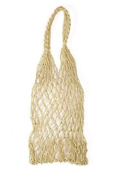 Woven Tote Bag // Perfect tote to carry your wine to the beach!