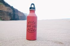 Poler x Mizu Camp Vibes water bottle in the wild.   #adventure86 #poler #polerstuff #campvibes