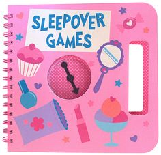 Aimed at Claire's younger customer, this book provides girls with innovative, fun games for sleepover parties. The original games created for this book cover a wide range of sleepover activities. The vibrant color palette suits the mood of the product. Sleepover Activities, Sleepover Party, Activities To Do, Fun Games, Vibrant Colors, This Book, Behance, Slumber Party Activities, Sleepover