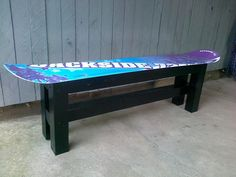 I have an old board I would like to possibly use as a bench or some other fixture
