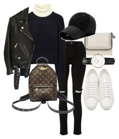 """Untitled #22839"" by florencia95 ❤ liked on Polyvore featuring STELLA McCARTNEY, Acne Studios, Yves Saint Laurent, Louis Vuitton and Daniel Wellington"
