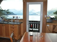 Waterfront Cabin, very private location, amazing view! Free Sups and Canoe:) - Squamish Canoe, Wind Chimes, Vancouver, Windows, Bedroom, Window, Bedrooms, Dreamcatchers, Master Bedrooms