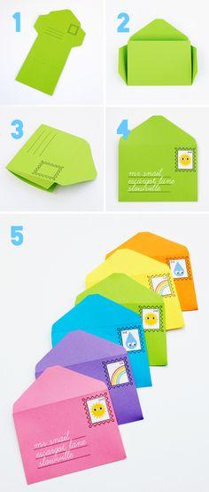 FREE Printable Play Envelopes & Stamps
