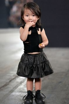 Alexander Wang's 21 month old niece