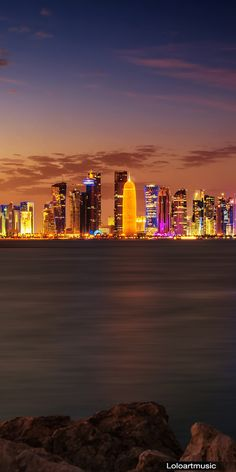 Doha, Qatar. My stopover on the way to Tanzania. Sadly I'm only in the airport for a few hours..