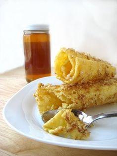 Diples - Greek traditional Christmas deep fried sweets
