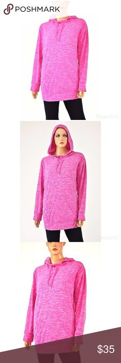 Style & Co Sport Space-Dye Hoodie B63 Style: Hoodie Color: Pink Brand: Style&co. (Sport) Material: Polyester 100% Sleeve Style: Long Sleeve Pattern: Space-Dye Size (Women's): various Size Type:Plus. The close-up photo displays the most accurate color. Style & Co Tops Sweatshirts & Hoodies