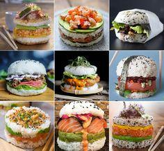 sushi hamburger