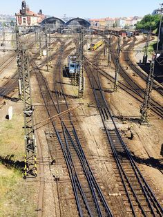 Prague railroad