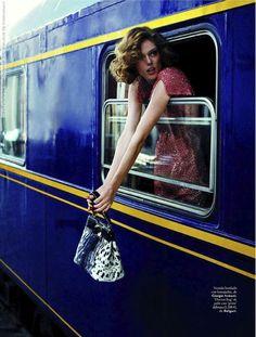 Coco Rocha for Elle Spain, September 2012