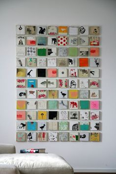 Michael CutlipGrid Work | Michael Cutlip - nice way to display an array of tiny canvases